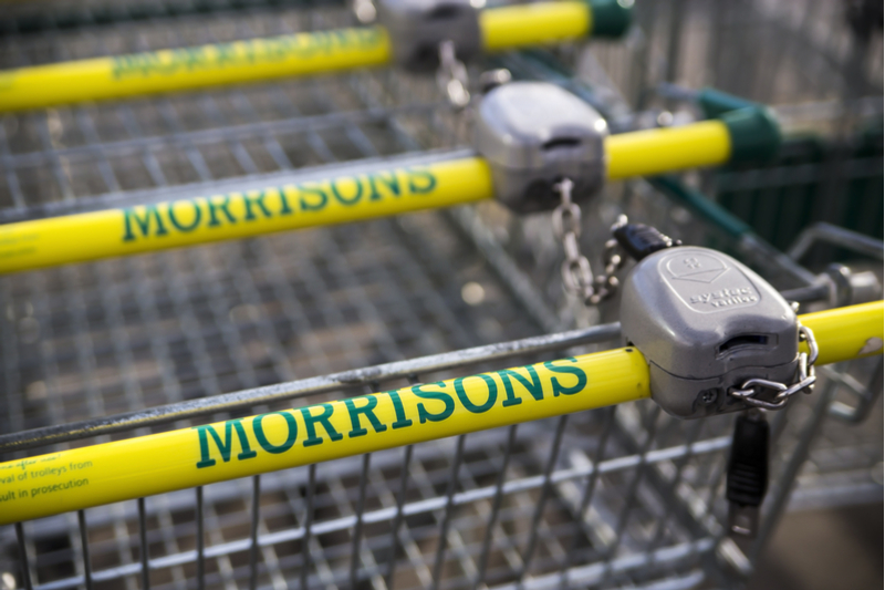 Improved performance in Morrisons sales