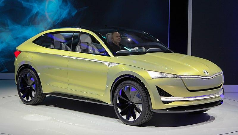 electrified car promise Skoda