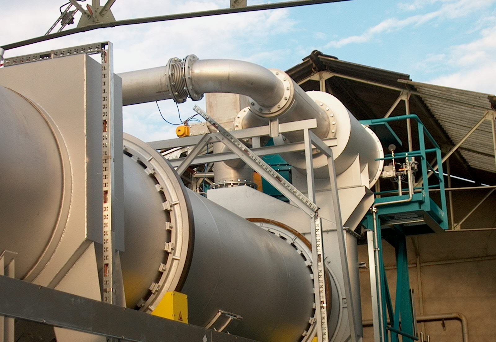 Industrial Dryer types - Rotary dryer