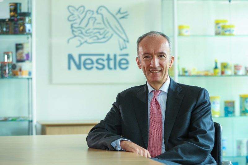 nestle recycling calls uk government